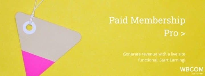 Paid Membership Pro Plugin