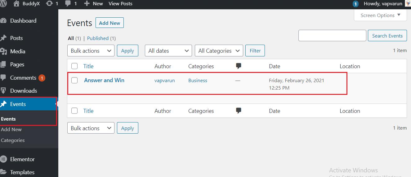 bp simple event plugin