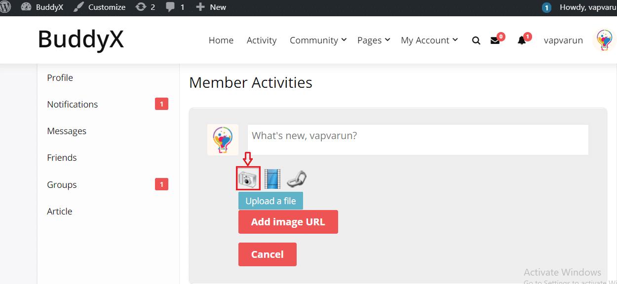 activity plus reloaded