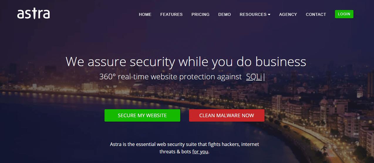 astra security plugin