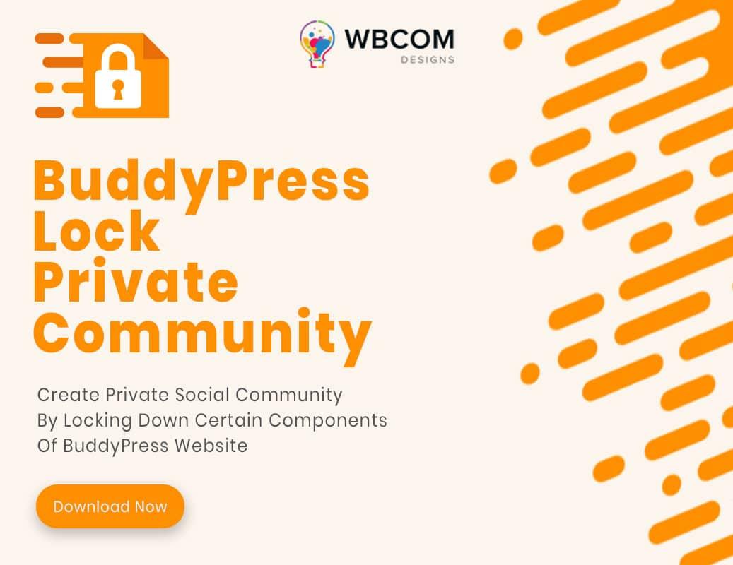 BuddyPress Lock