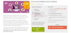 YITH Multi Vendor Plugin