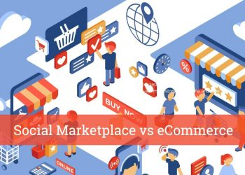 Selling on an eCommerce vs Social Marketplace