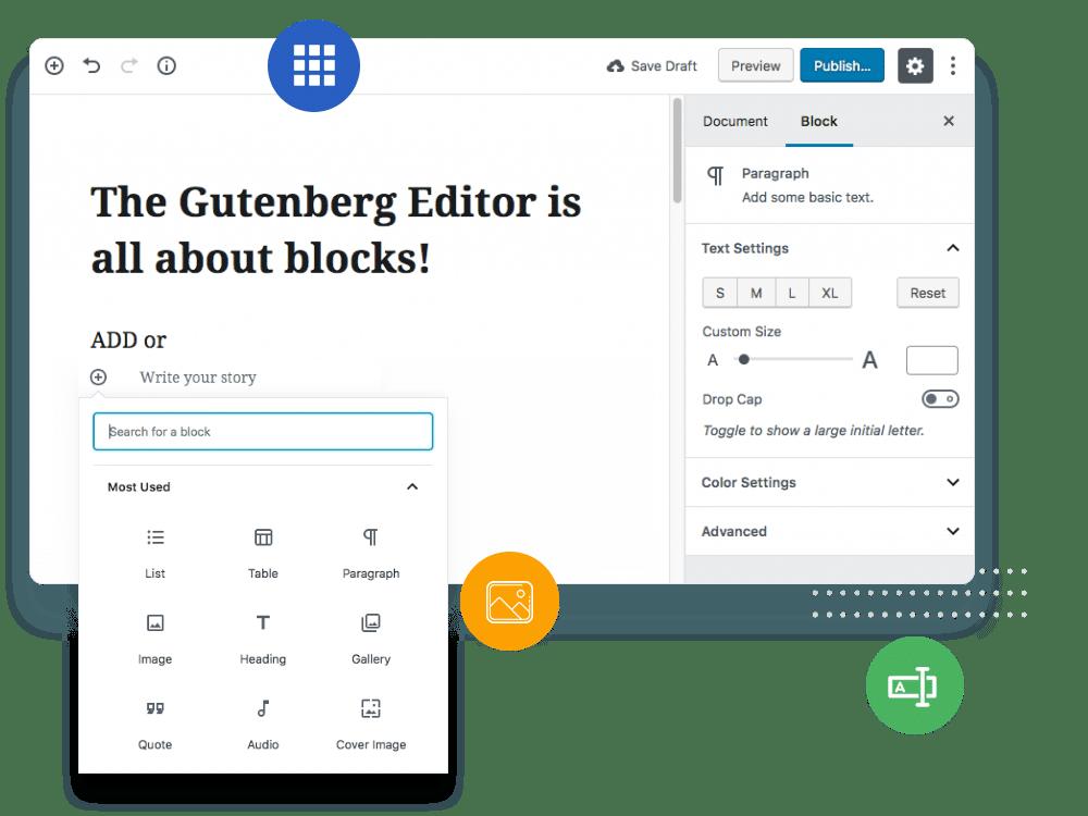 buddy x Gutenberg