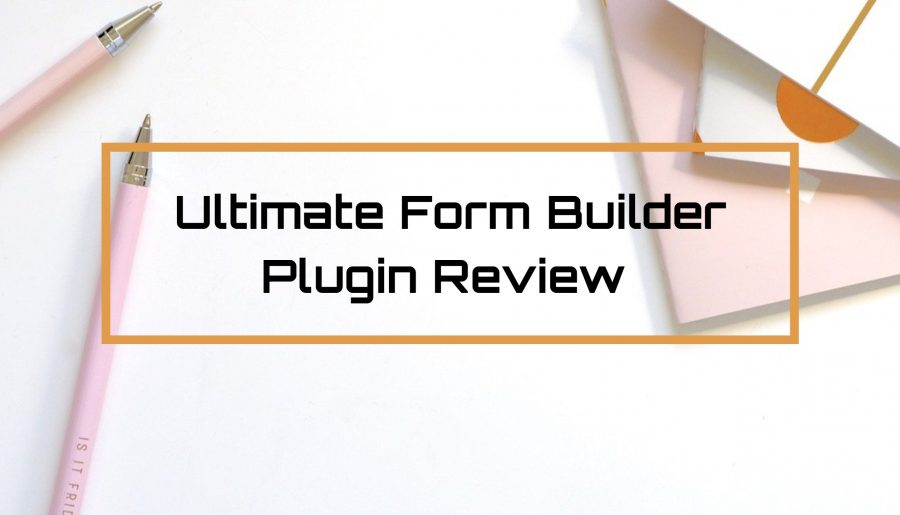 Ultimate Form Builder Review