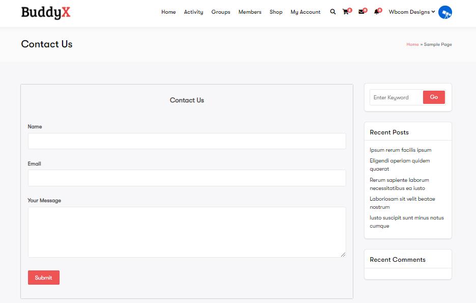 Ultimate Form Builder, BuddyX