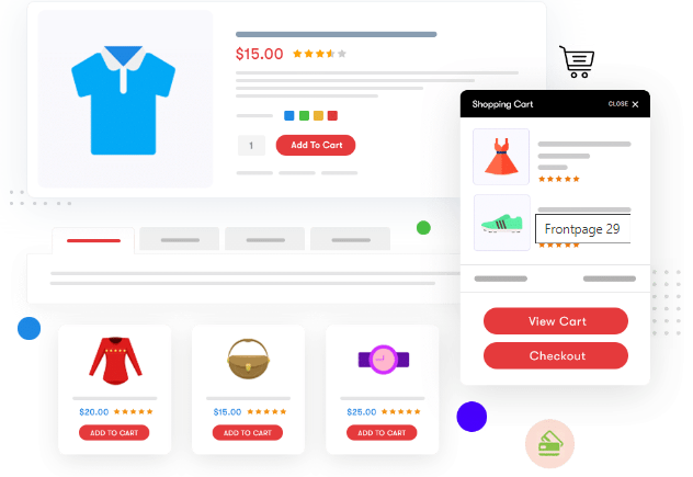 social marketplace template