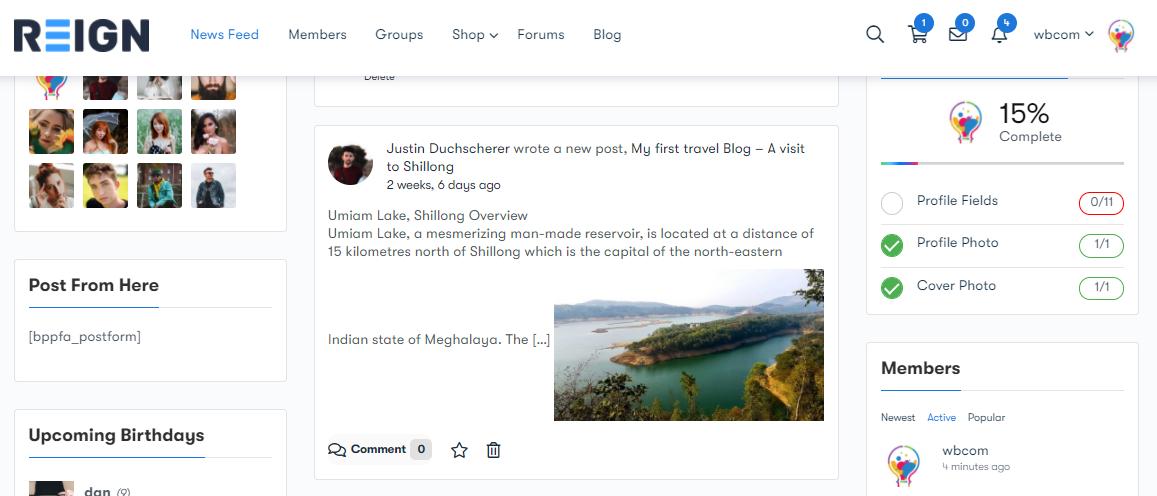 Travel Blogging Community