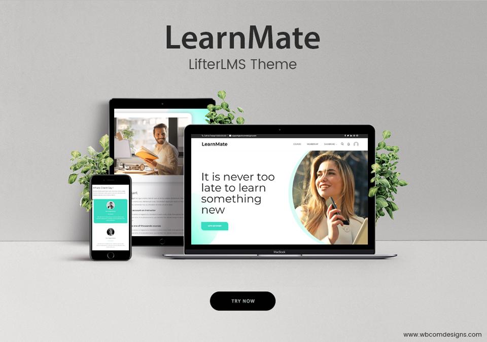 LearnMate theme